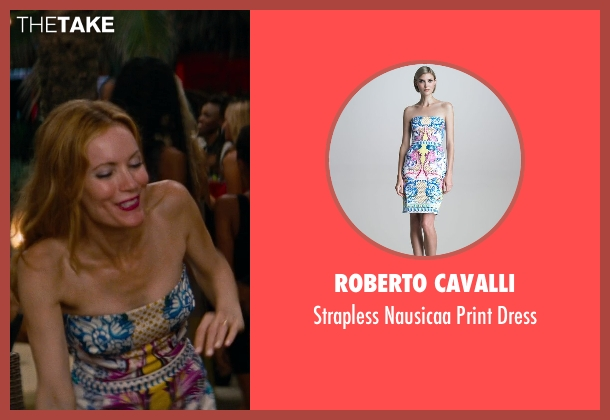 Roberto Cavalli dress from The Other Woman seen with No Actor (Kate King)