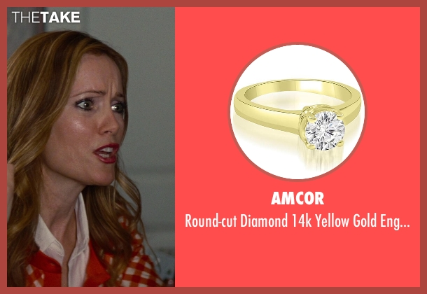 Amcor gold ring from The Other Woman seen with No Actor (Kate King)