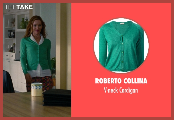 Roberto Collina green cardigan from The Other Woman seen with No Actor (Kate King)