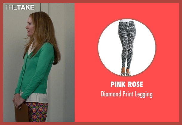 Pink Rose green legging from The Other Woman seen with No Actor (Kate King)
