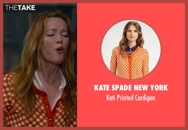 Kate Spade New York orange cardigan from The Other Woman seen with No Actor (Kate King)