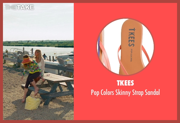 Tkees orange sandal from The Other Woman seen with No Actor (Kate King)