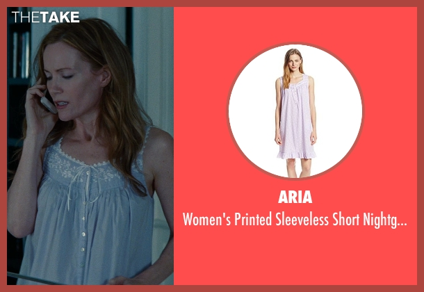 Aria purple nightgown from The Other Woman seen with Leslie Mann (Kate King)