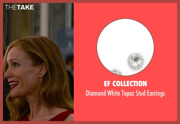 EF Collection silver earrings from The Other Woman seen with No Actor (Kate King)