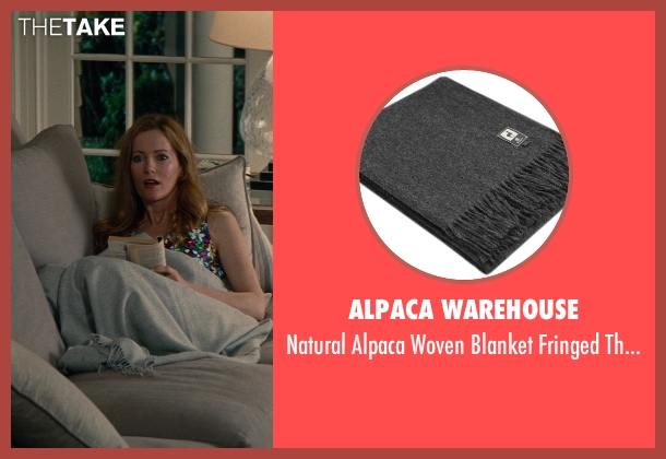 Alpaca Warehouse throw from The Other Woman seen with No Actor (Kate King)