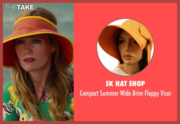 SK Hat Shop visor from The Other Woman seen with Leslie Mann (Kate King)
