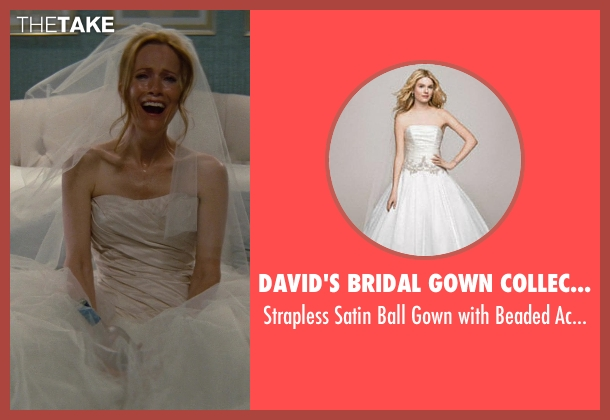 David's Bridal Gown Collection white accents from The Other Woman seen with No Actor (Kate King)