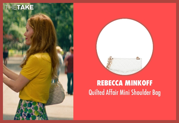 Rebecca Minkoff	 white bag from The Other Woman seen with No Actor (Kate King)