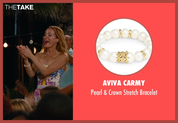 Aviva Carmy white bracelet from The Other Woman seen with No Actor (Kate King)