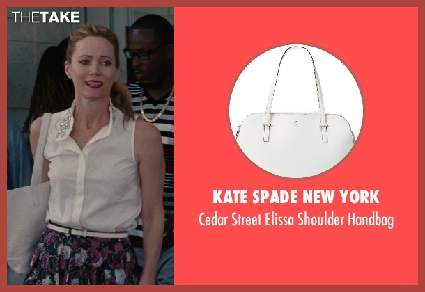 Kate Spade New York white handbag from The Other Woman seen with No Actor (Kate King)