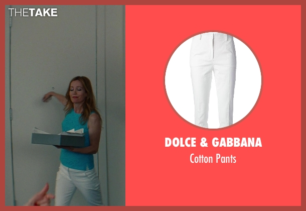 Dolce & Gabbana white pants from The Other Woman seen with No Actor (Kate King)