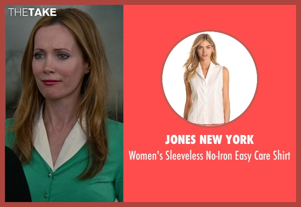 Jones New York white shirt from The Other Woman seen with No Actor (Kate King)