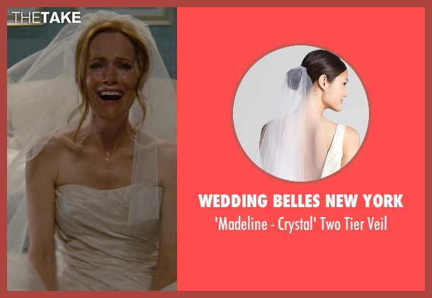 Wedding Belles New York white veil from The Other Woman seen with No Actor (Kate King)