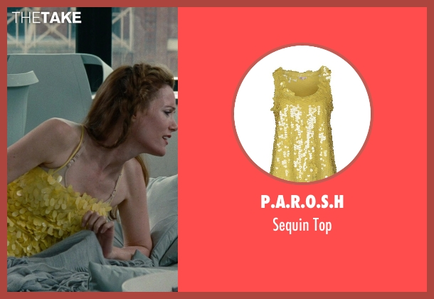P.A.R.O.S.H yellow top from The Other Woman seen with No Actor (Kate King)