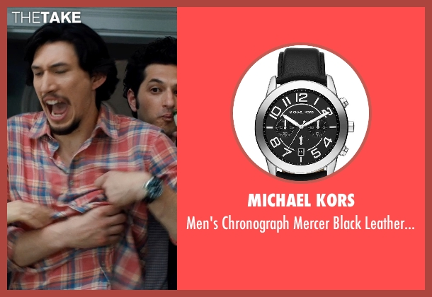 MICHAEL KORS black watch from This Is Where I Leave You seen with No Actor (Paul Altman)