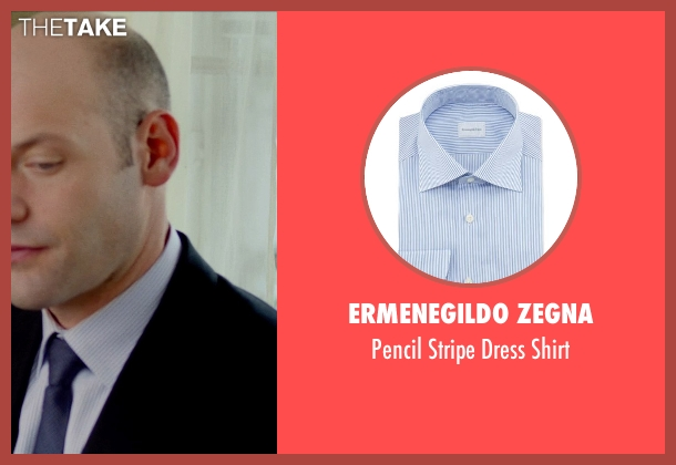 Ermenegildo Zegna blue shirt from This Is Where I Leave You seen with No Actor (Paul Altman)