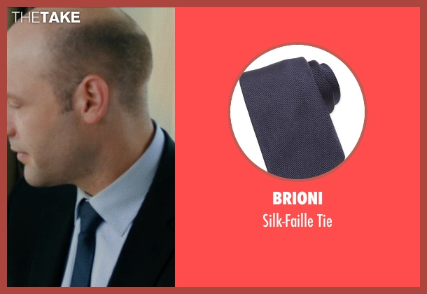 BRIONI tie from This Is Where I Leave You seen with No Actor (Paul Altman)