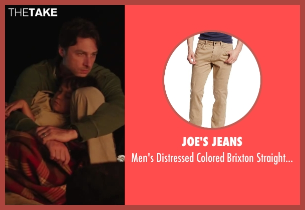 Joe's Jeans beige jean from Wish I Was Here seen with No Actor (Aidan Bloom)