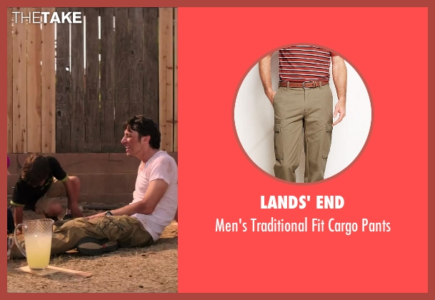 Lands' End beige pants from Wish I Was Here seen with No Actor (Aidan Bloom)