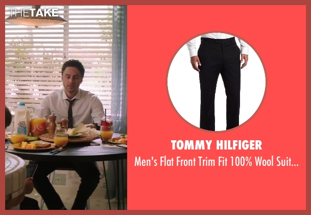 Tommy Hilfiger black pant from Wish I Was Here seen with No Actor (Aidan Bloom)