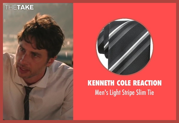 Kenneth Cole Reaction black tie from Wish I Was Here seen with No Actor (Aidan Bloom)