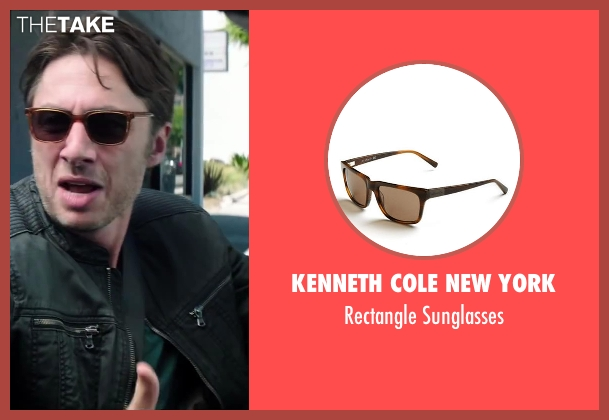 Kenneth Cole New York brown sunglasses from Wish I Was Here seen with No Actor (Aidan Bloom)