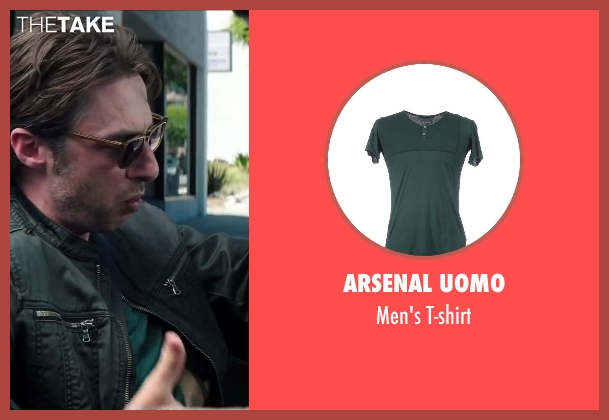 Arsenal Uomo green t-shirt from Wish I Was Here seen with No Actor (Aidan Bloom)