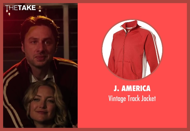 J. America red jacket from Wish I Was Here seen with No Actor (Aidan Bloom)