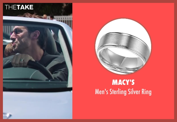 Macy's silver ring from Wish I Was Here seen with No Actor (Aidan Bloom)