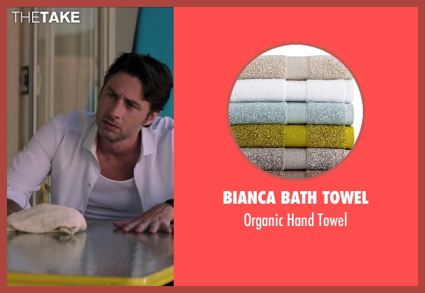 Bianca Bath Towel towel from Wish I Was Here seen with No Actor (Aidan Bloom)