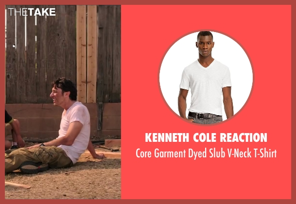 Kenneth Cole Reaction white t-shirt from Wish I Was Here seen with No Actor (Aidan Bloom)