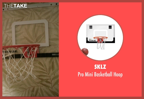 SKLZ hoop from 99 Homes seen with Noah Lomax (Connor Nash)