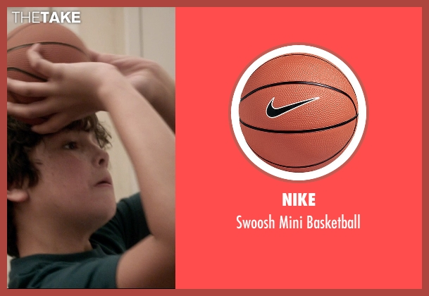 Nike orange basketball from 99 Homes seen with Noah Lomax (Connor Nash)