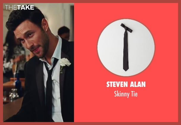 Steven Alan black tie from Sex and the City 2 seen with Noah Mills (Nicky)