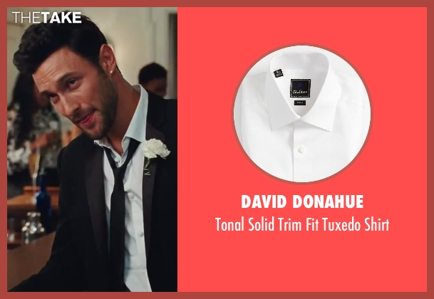 David Donahue white shirt from Sex and the City 2 seen with Noah Mills (Nicky)