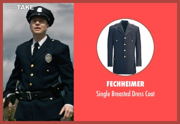 Fechheimer blue coat from The Age of Adaline seen with Noel Johansen (Traffic Cop)