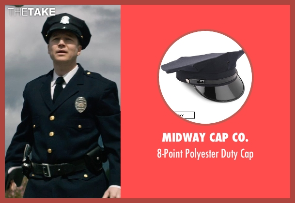 Midway Cap Co. cap from The Age of Adaline seen with Noel Johansen (Traffic Cop)