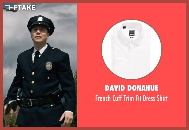 David Donahue white shirt from The Age of Adaline seen with Noel Johansen (Traffic Cop)
