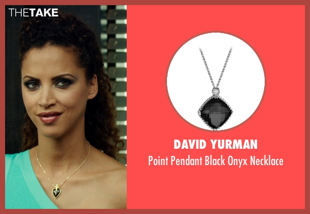 David Yurman silver necklace from The Transporter: Refueled seen with Noémie Lenoir (Unknown Character)