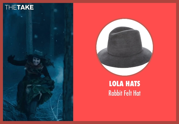 Lola Hats black hat from Sherlock Holmes: A Game of Shadows seen with Noomi Rapace (Madam Simza Heron)