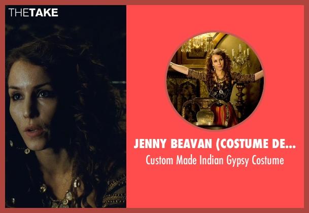 Jenny Beavan (Costume Designer) costume from Sherlock Holmes: A Game of Shadows seen with Noomi Rapace (Madam Simza Heron)
