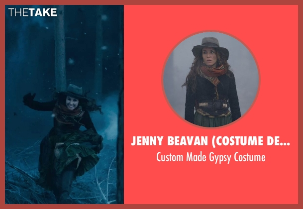 Jenny Beavan (Costume Designer) costume from Sherlock Holmes: A Game of Shadows seen with Noomi Rapace (Madam Simza Heron)