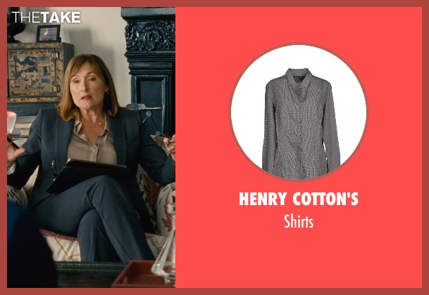 Henry Cotton's gray shirts from Entourage seen with Nora Dunn (Dr. Marcus)