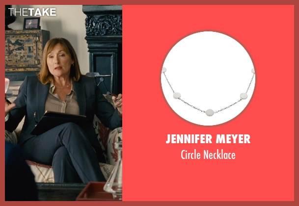 Jennifer Meyer silver necklace from Entourage seen with Nora Dunn (Dr. Marcus)