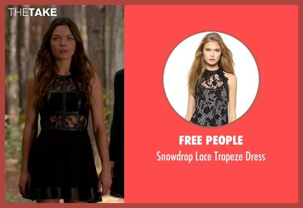 Free People black dress from The Vampire Diaries seen with Nora (Scarlett Byrne)
