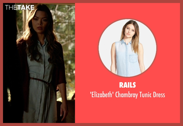 Rails blue dress from The Vampire Diaries seen with Nora (Scarlett Byrne)