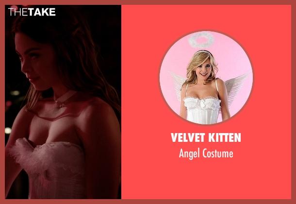 Velvet Kitten costume from The Vampire Diaries seen with Nora (Scarlett Byrne)