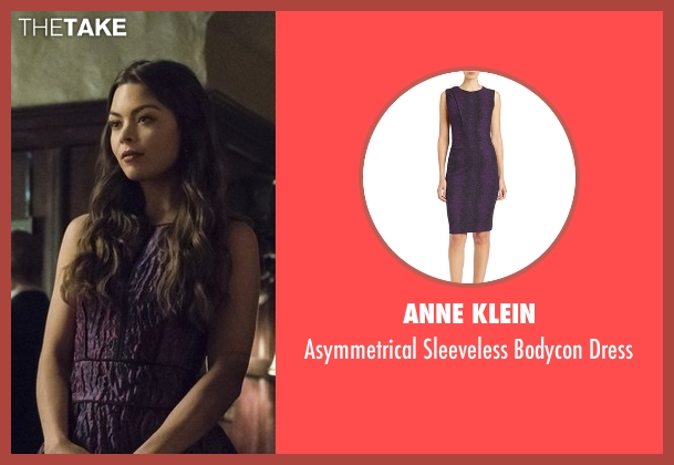 Anne Klein purple dress from The Vampire Diaries seen with Nora (Scarlett Byrne)