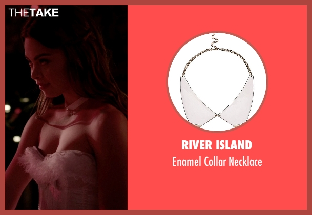 River Island white necklace from The Vampire Diaries seen with Nora (Scarlett Byrne)