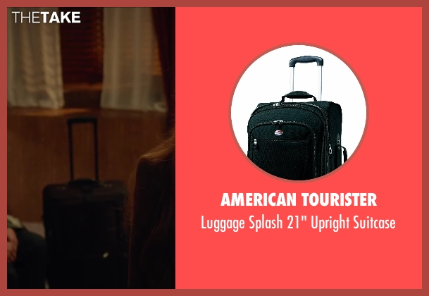 American Tourister black suitcase from Oculus